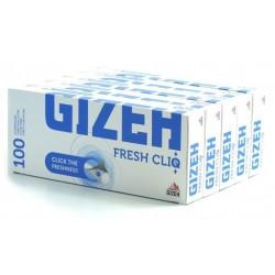 100 Tubes à Cigarette Fresh Cliq Menthol x 5