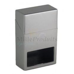 Etui Paquet de Cigarettes Aluminium Avec Fenêtre