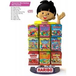 Présentoir Haribo Hariboy Mini Sachets + 24 Boites