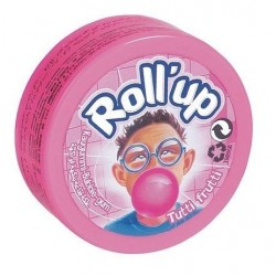 Bubble Gum Roll Up Tutti Frutti