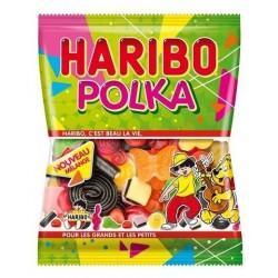Sachet Bonbons Haribo Polka 120 Grammes