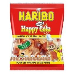 Sachet Bonbons Haribo Happy Cola 120 Grammes