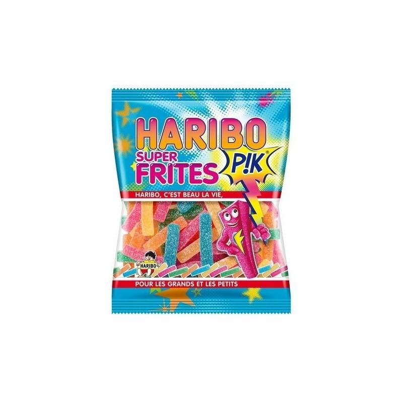 Sachet Bonbons Haribo Super Frites Pik 120 Grammes