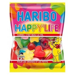Sachet Bonbons Haribo Happy Life 120 Grammes