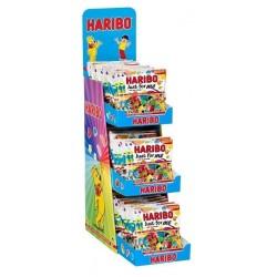 Display Haribo Sachets 120 Grammes  + 60 Sachets