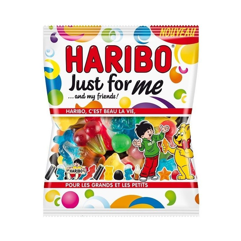Sachet Bonbons Haribo Just For me 120 Grammes
