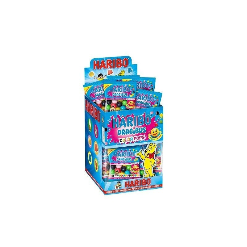 Mini Sachets Haribo Dragibus Color Pops
