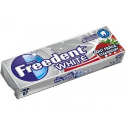 Chewing Gum Freedent White Fraise