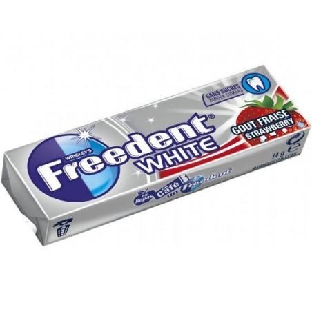Chewing Gum Freedent White Fraise