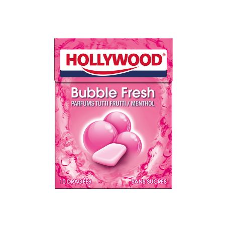 Hollywood Chewing Gum Bubble Fresh en Dragées