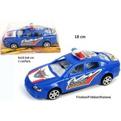 Voiture de Police 18 cm à Friction