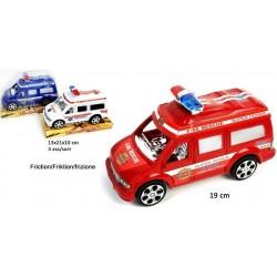 Voiture de Police Pompier Ambulance