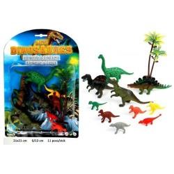 Set Dinosaures avec Accessoires
