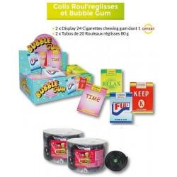Colis Roul'reglisses et Bubble Gum