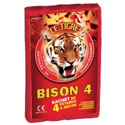 Pétard le Tigre Bison 4 x 20 Paquets