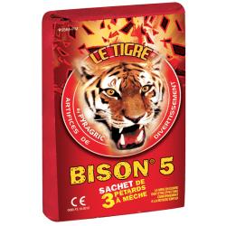 Pétard le Tigre Bison 5 x 4 Paquets