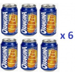 6 Canettes de Orangina 33 cl