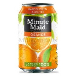 6 Canettes de Minute Maid Orange 33 cl