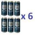6 Canettes de Bière Bavaria 8°6 50 cl