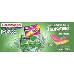 Hollywood Max Framboise et Citron en Tablette