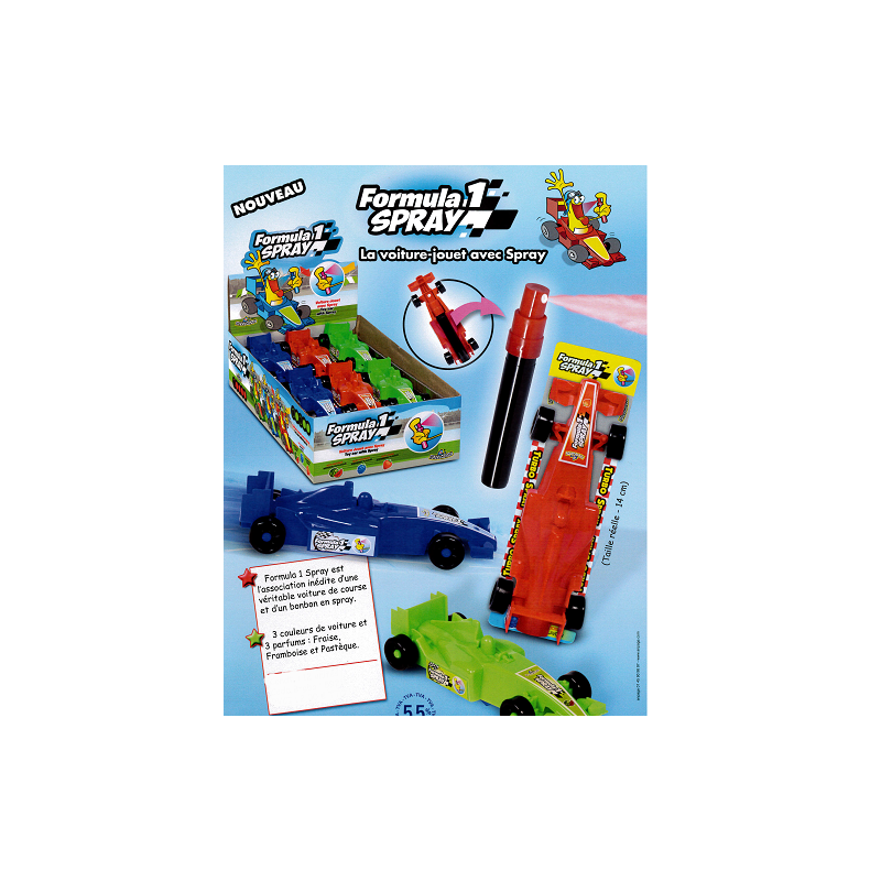 Bonbons Formula 1 Spray