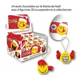 Oeuf Surprise Smiley Noël