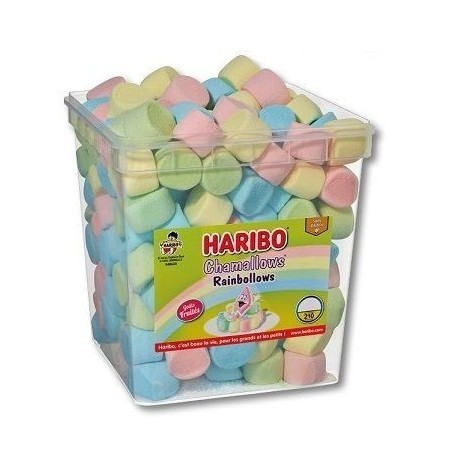 Bonbons Haribo Chamallows Rainbollows