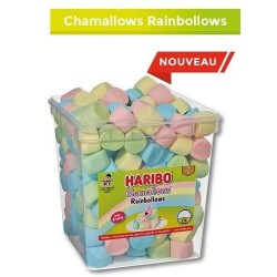 Bonbons Haribo Chamallows Rainbollows