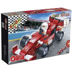 Jeu de Construction F1 Rouge
