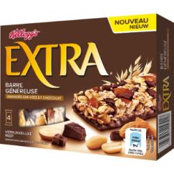 Barres Extra Kellog's Chocolat