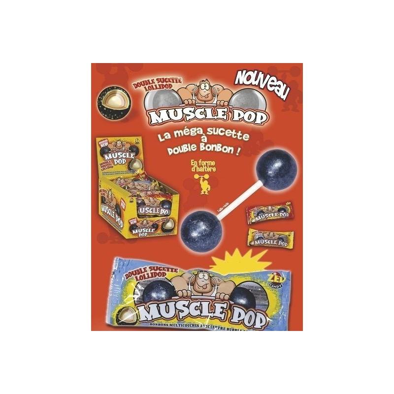 Sucettes Muscle Pop