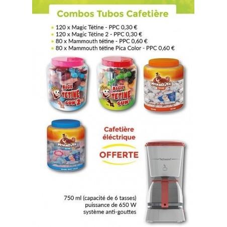 Combo Tubos Cafetière