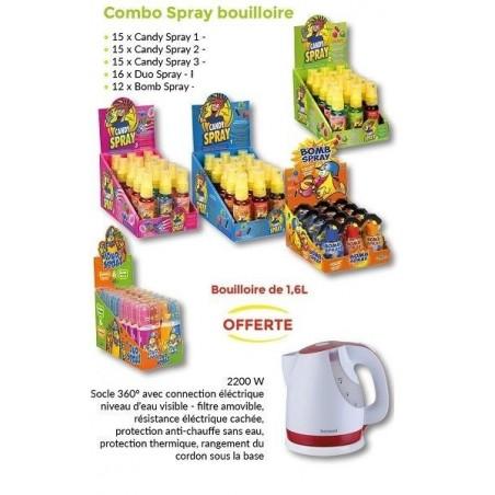 Combo Spray Bouilloire