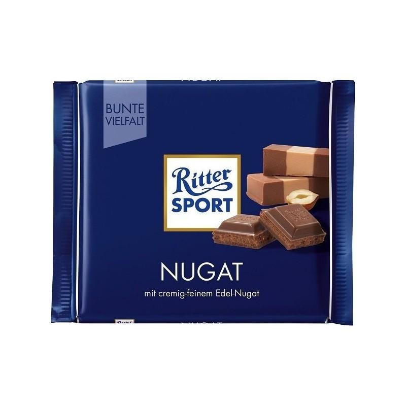 Tablette de Chocolat Ritter Sport Fourré au Praliné