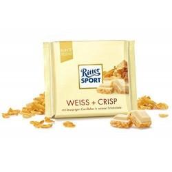 Tablette de Chocolat Ritter Sport Blanc Croustillant