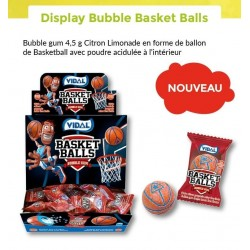 Bubble Gum Basket Balls