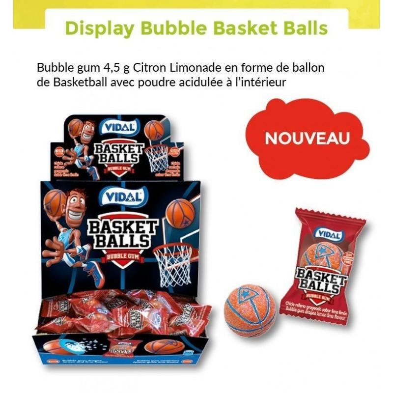 Bubble Gum Basket Balls