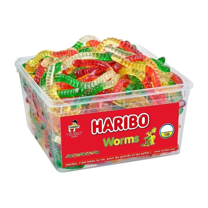 Bonbons Haribo Worms