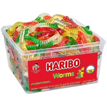 Bonbons Haribo Worms