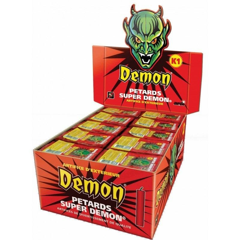 Pétard Super Demon x 5 Paquets