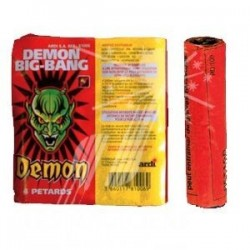 Pétard Demon Big Bang x 20 Paquets Dispo 20 Juin