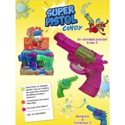 Super Pistolet à Eau Avec Bonbons