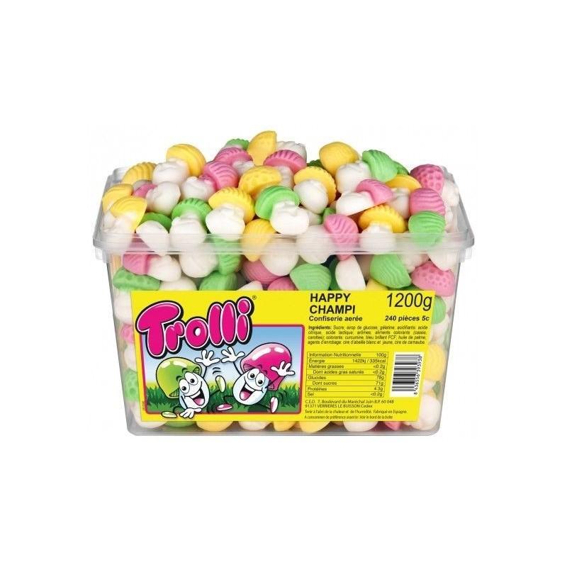 Bonbons Trolli Happy Champi