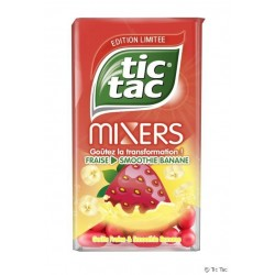 Tic Tac Mixers Fraise Smoothie Banane