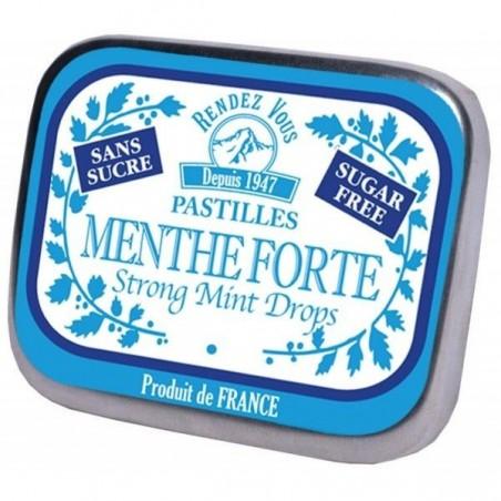 Pastilles Menthe Fortes