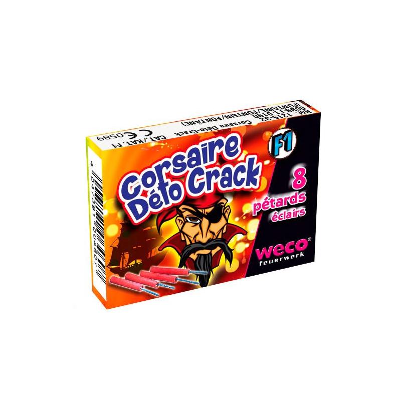 Pétard Corsaire Deto Cracker x 10 Paquets Dispo 03 Juillet