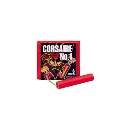 Pétard Corsaire N°1 x 10 Paquets Dispo 03 Juillet