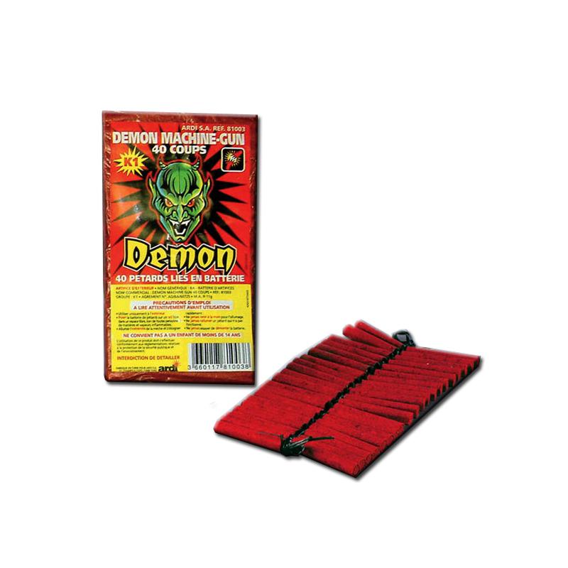 Pétard Demon Machine Gun x 10 Paquets Dispo 20 Juin