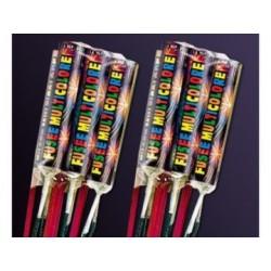 6 Fusées Multicolore Dispo 20 Juin