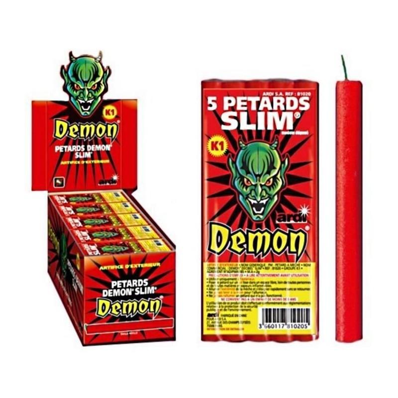 Pétard Demon Slimx 10 Paquets Dispo 20 Juin
